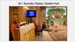 10-19 Sri Sarada Nama Samkirtan