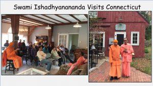 10-20 Swami Ishadhyanananda Visits Connecticut