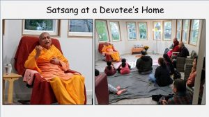 10-13 Satsang with Devotees