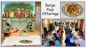10-05 Durga Puja Flower Offerings and Prasad Lunch