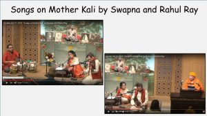 10-27 Songs on Mother Kali – Singing by Swapna and Rahul Ray