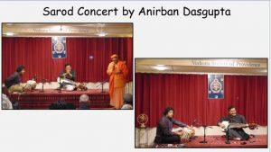 11-10 Sarod Concert by Anirban Dasgupta