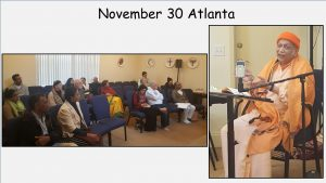 11-30 Retreat on Meister Eckhart in Vedanta Center Atlanta