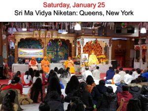 01-25 Sri Ma Vidya Niketan in Queens NY