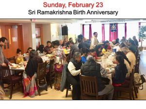 02-23 Devotees Enjoy Prasad Lunch
