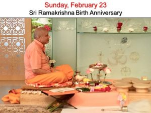 02-23 Sri Ramakrishna Puja