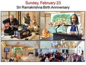 02-23 Singing, Readings and Devotees