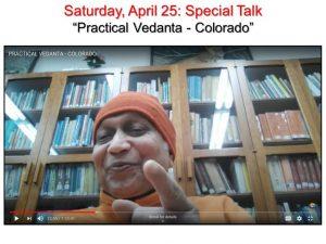 04-25 Special Talk: Practical Vedanta