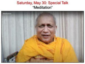 05-30 Special Talk Meditation