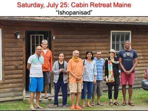 07-25 Maine Retreat on Ishopanisad