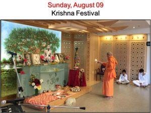 08-09 Krishna Festival Aarati